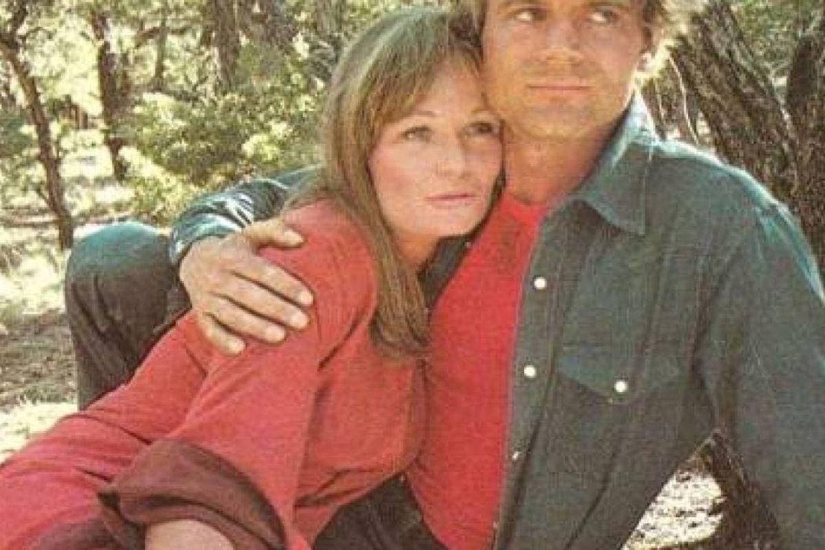 Terence Hill con la moglie