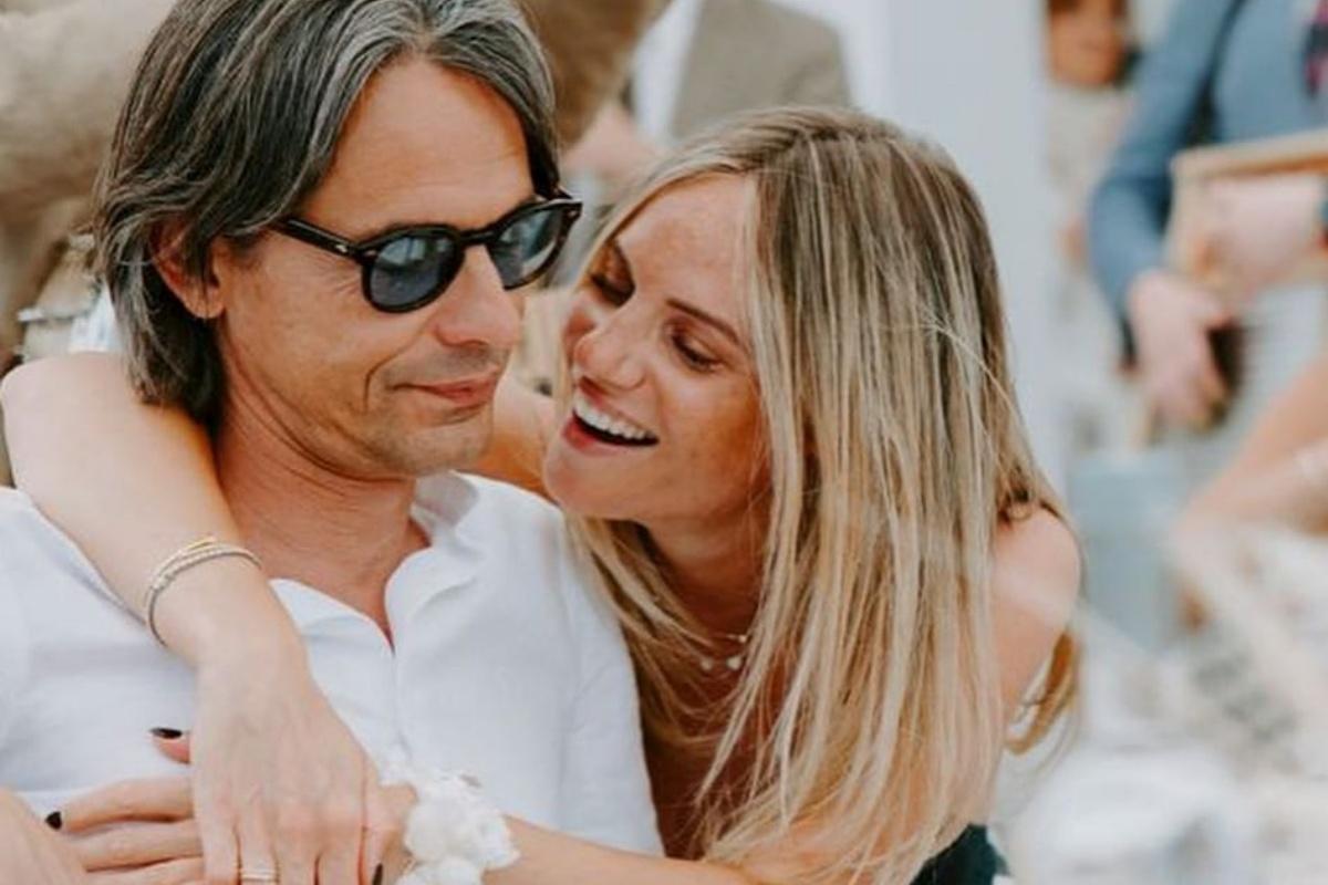 Angela Robusti e Pippo Inzaghi aspettano un maschietto