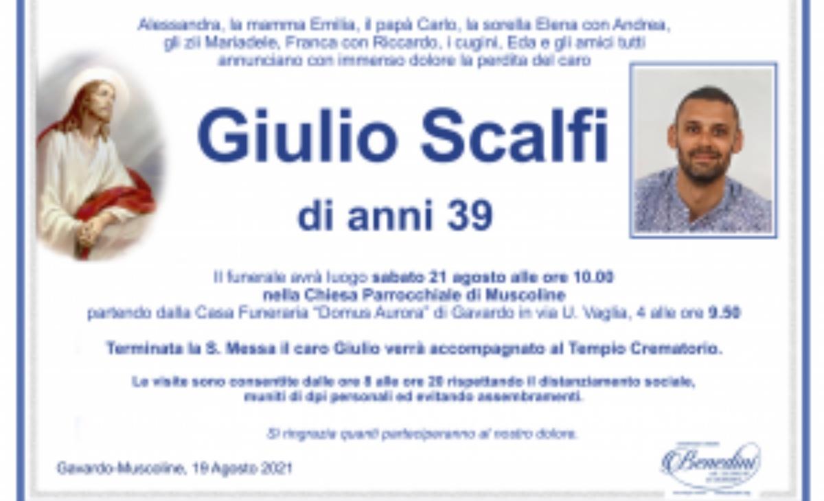 Incidente Giulio Scalfi
