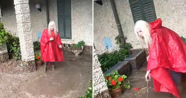 Ivana Spagna, i danni del maltempo nella sua villa a Como