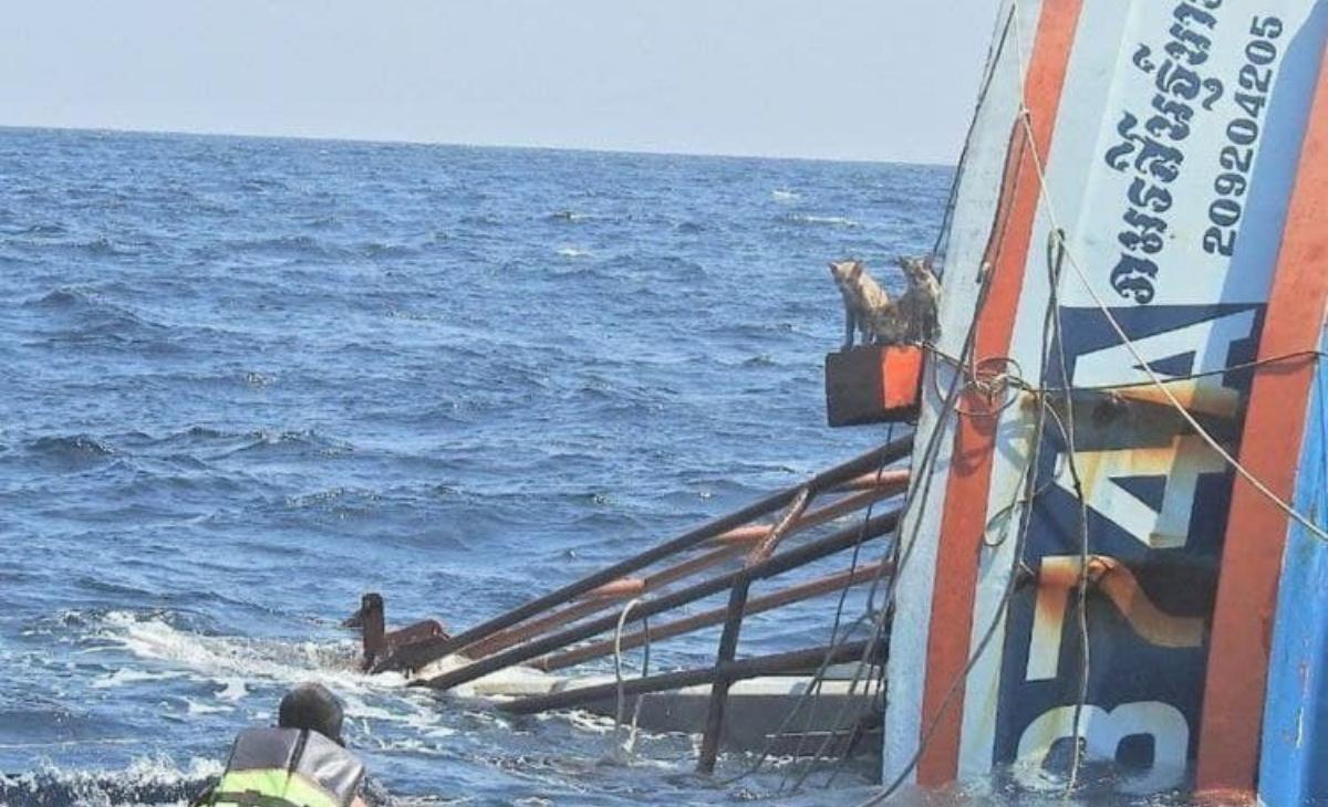 Il salvataggio dei marinai