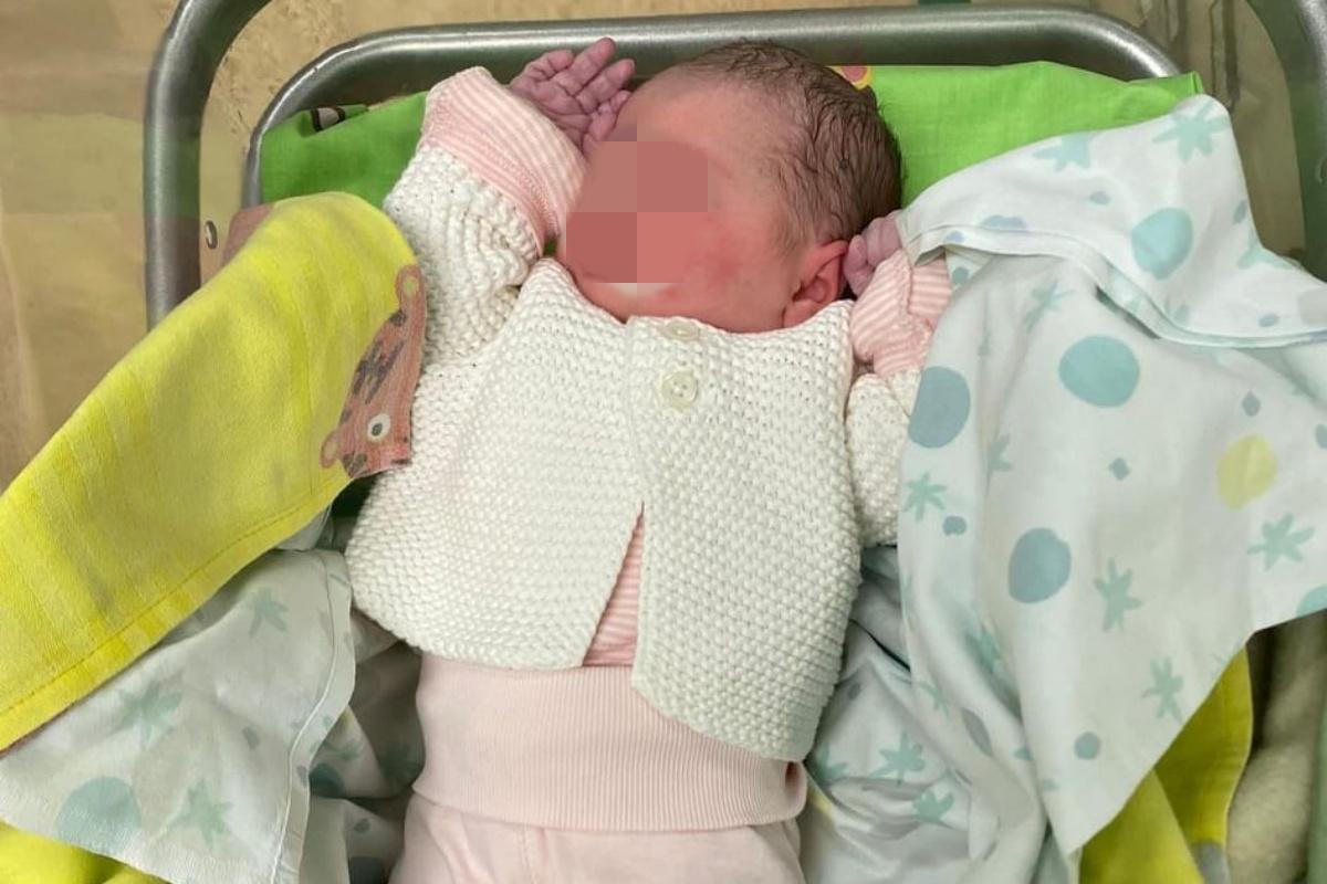 Nata la prima bimba di Martina Sebastiani