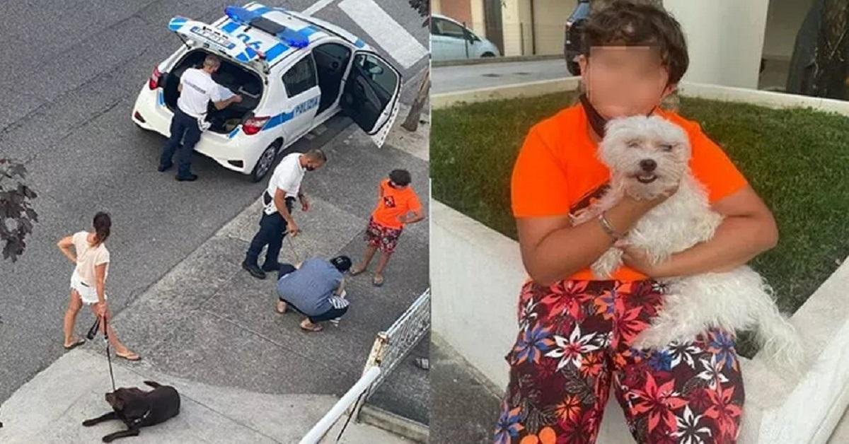 bambino di 10 anni salva un cane a Lignano