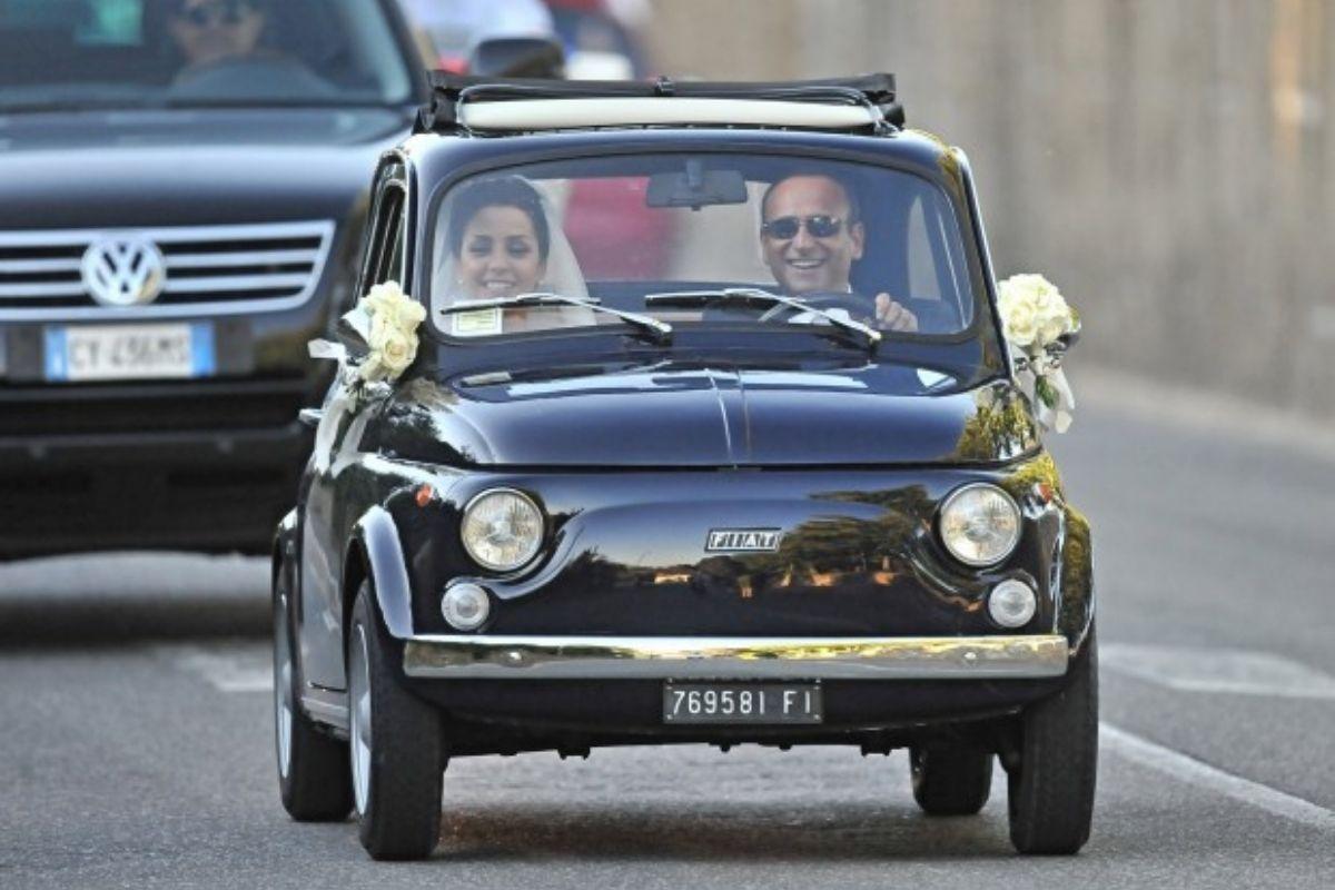 Carlo Conti auto matrimonio