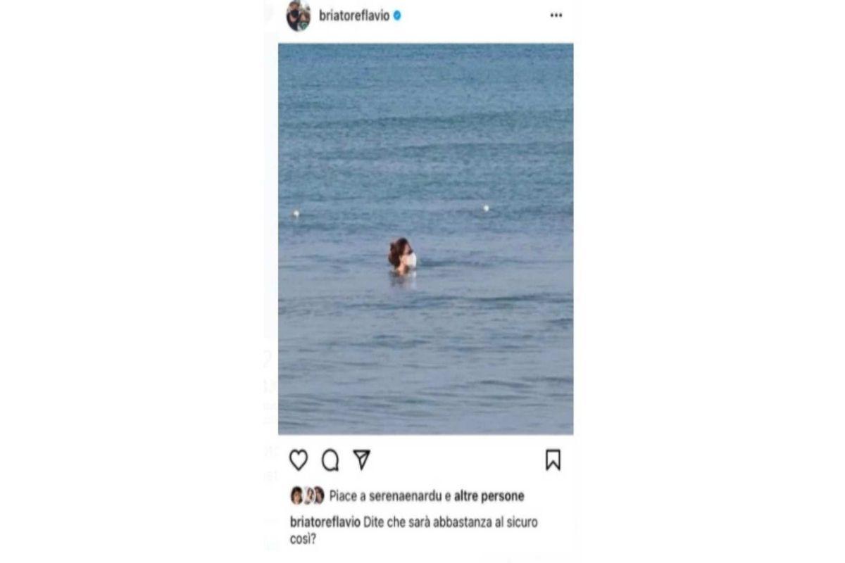 Flavio Briatore post Instagram