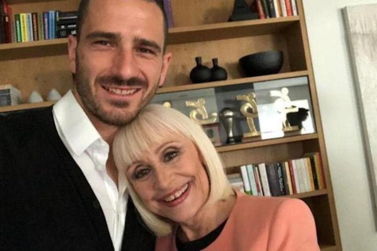Leonardo Bonucci e Raffaella Carrà