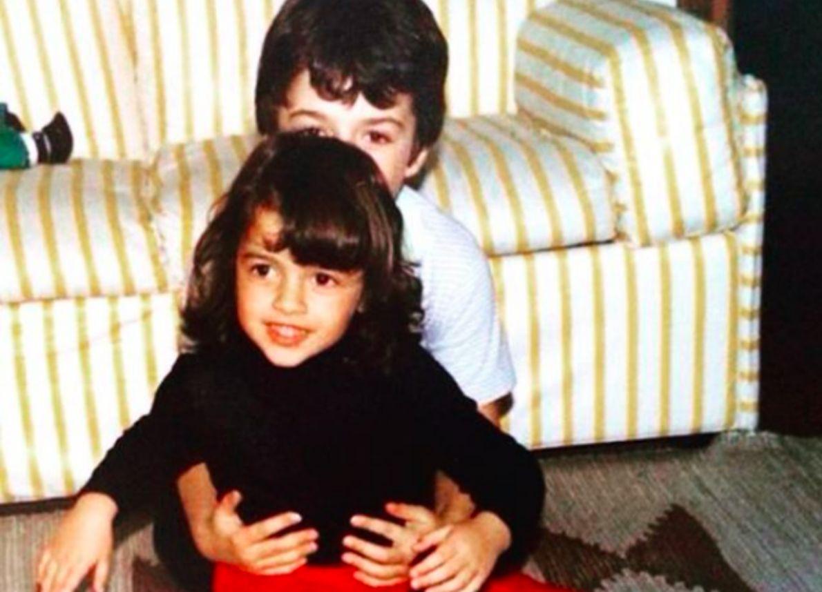 Luca Argentero e la sorella Francesca