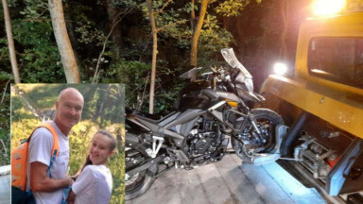 Papà e figlia di 13 anni trovati senza vita in un burrone