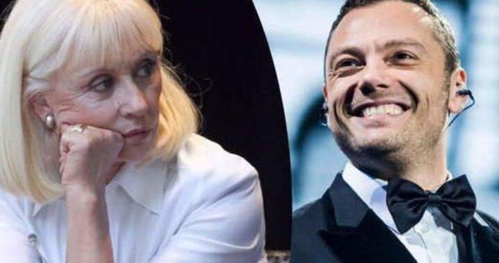 Raffaella Carrà e Tiziano Ferro