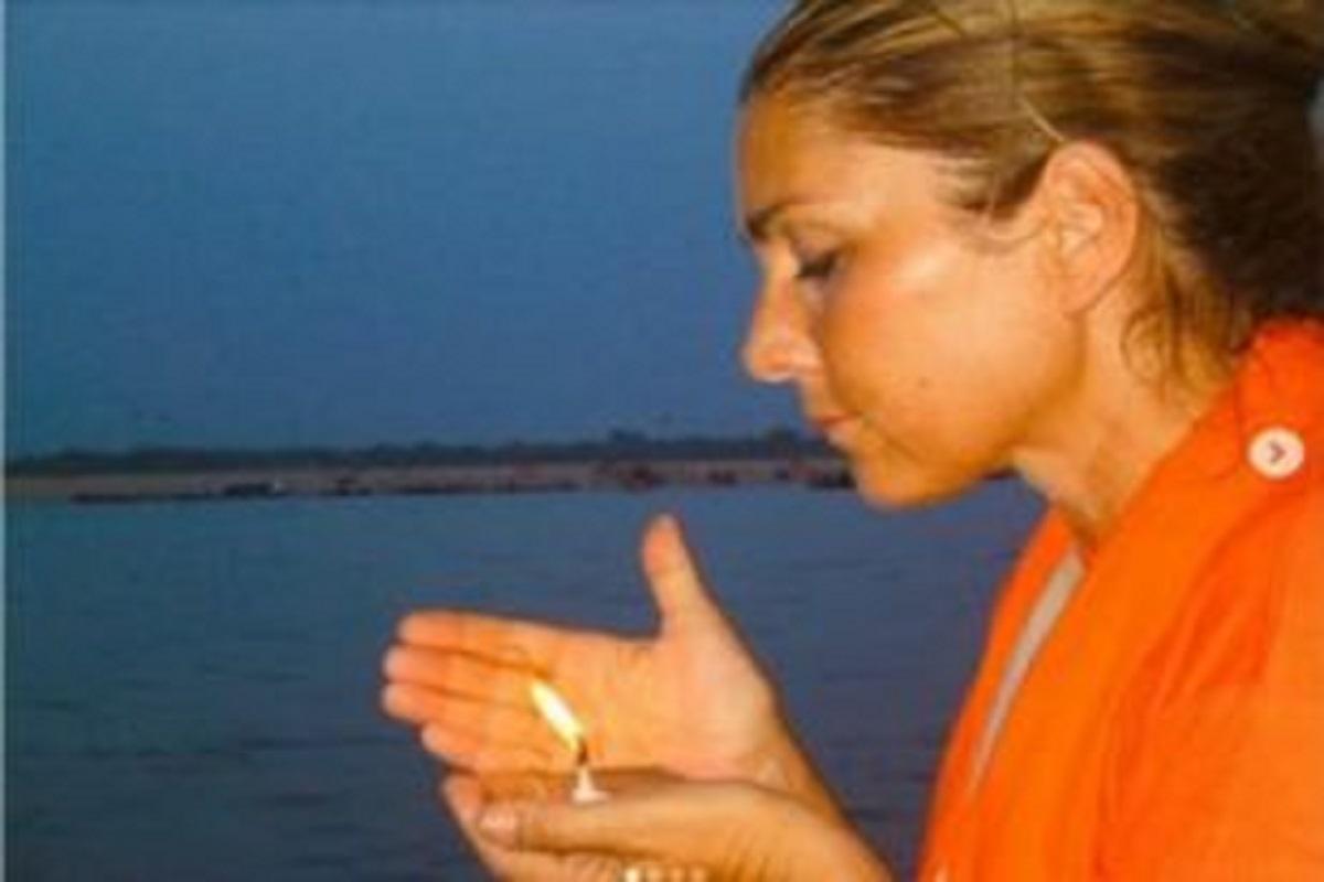 Romina Power e la preghiera al suo corpo