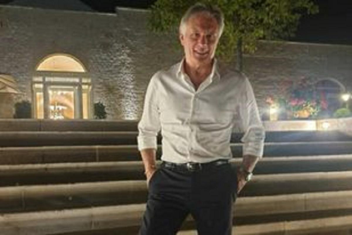 UeD Giorgio Manetti mostra il suo fisico da bodybuilder