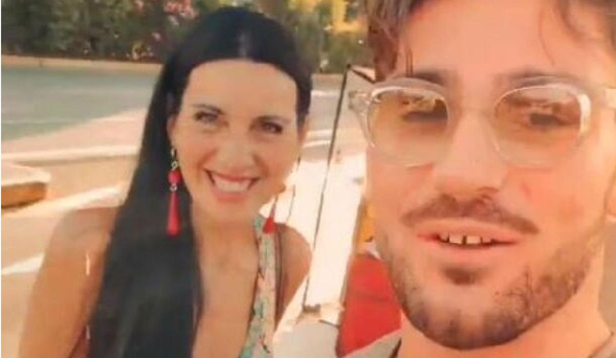 UeD Nicola Vivarelli in vacanza con una donna misteriosa