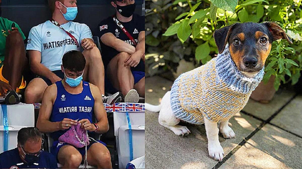 vestiti del cane lavorati a mano