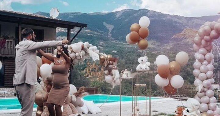 Alessia Macari e Oliver Kragl  svelano il colore del fiocco con un bellissimo video su Instagram