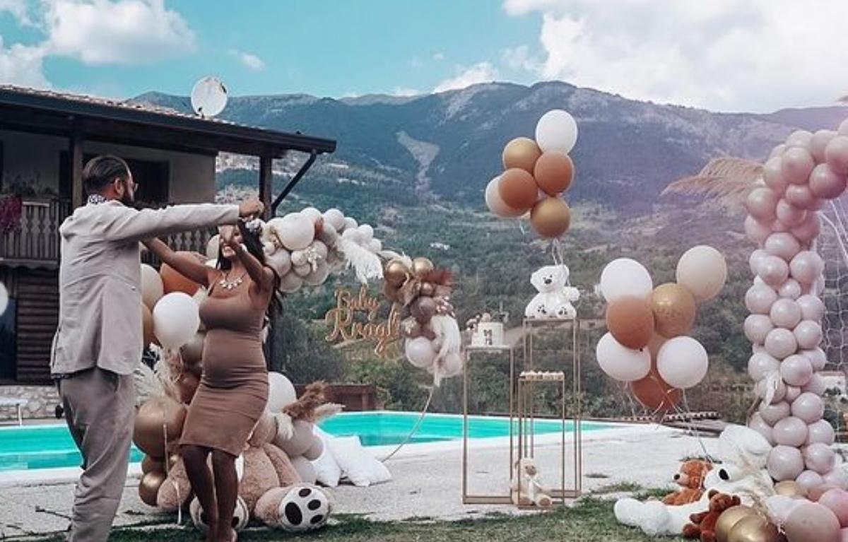 Alessia Macari e Oliver Kragl svelano il colore del fiocco