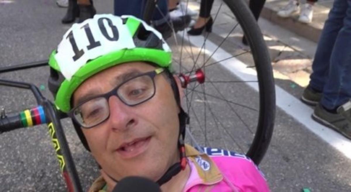 L'atleta di hand bike Andrea Conti è morto