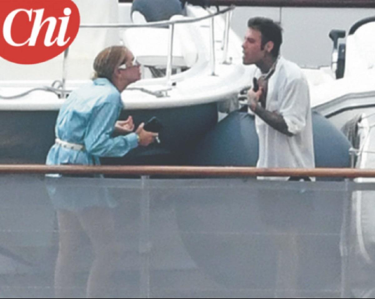 lite furiosa in barca