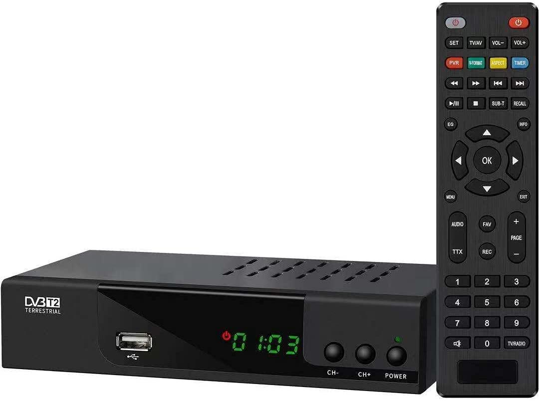 Decoder Ricevitore Digitale Terrestre TV DVB-T2