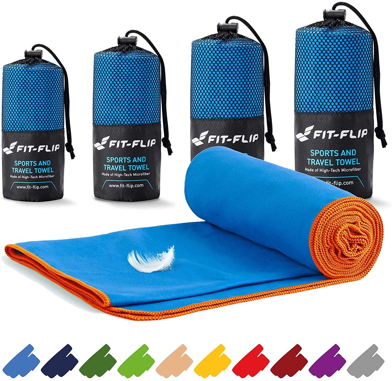 Fit-Flip Asciugamano in Microfibra – in Tutte Le Misure / 16 Colori