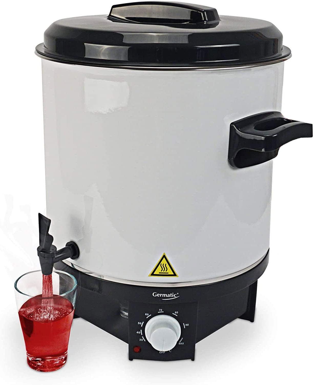 Germatic, macchina per conserve e bevande calde con griglia di inserimento