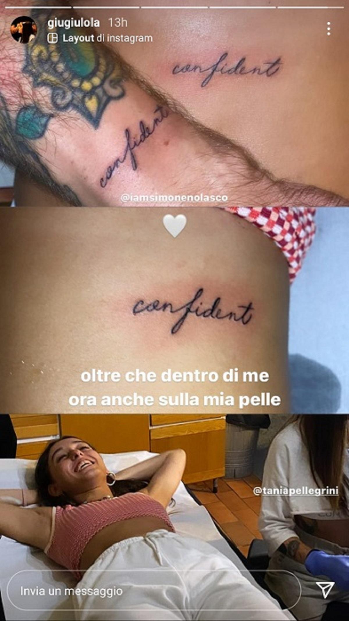 tatuaggio confident