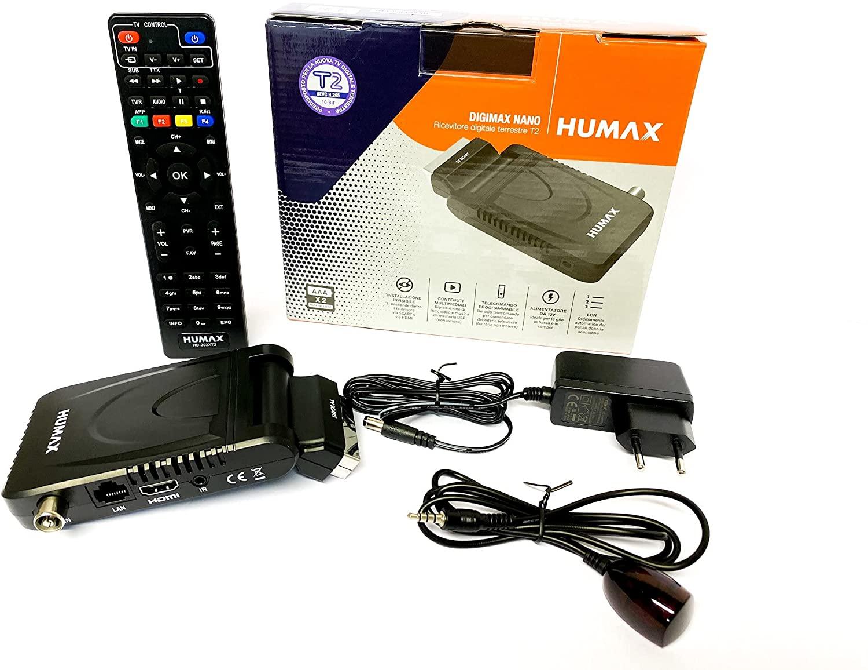Humax - Decoder digitale terrestre DVB-T2 HD