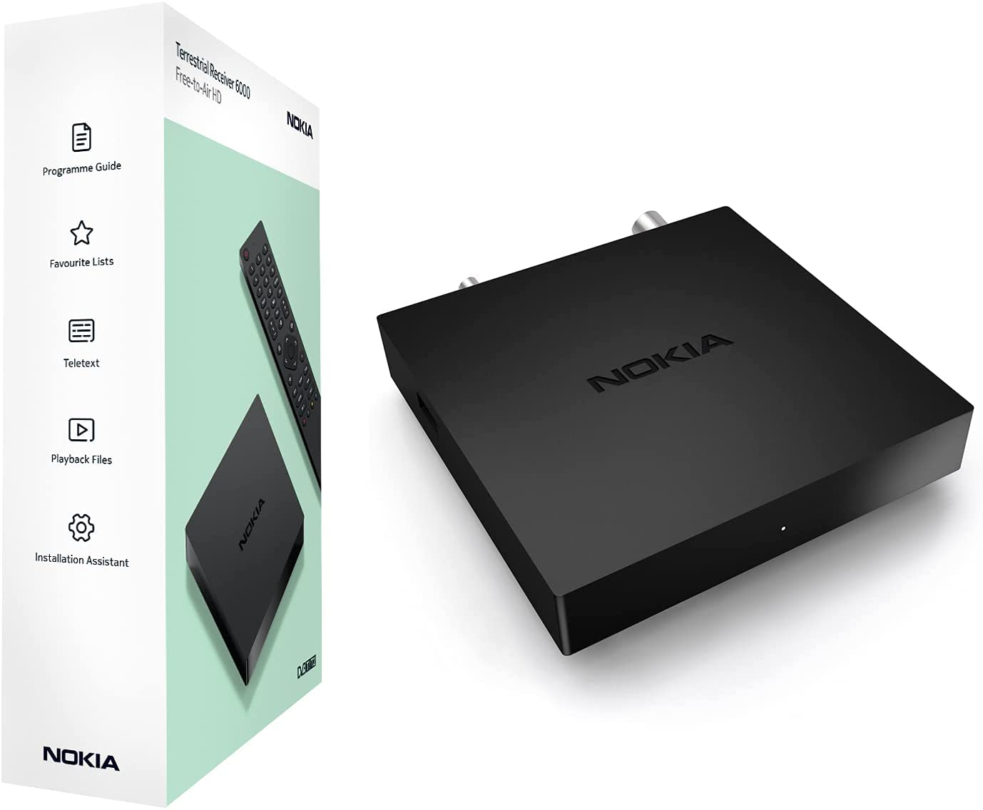 Nokia Decoder Digitale Terrestre DVB-T/DVB-T2