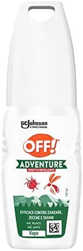 OFF! Adventure Vapo repellente per zanzare, zecche e tafani