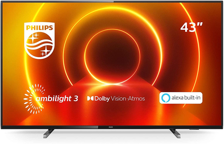 "Philips TV Ambilight 43PUS7805/12 43"" 4K UHD TV LED"