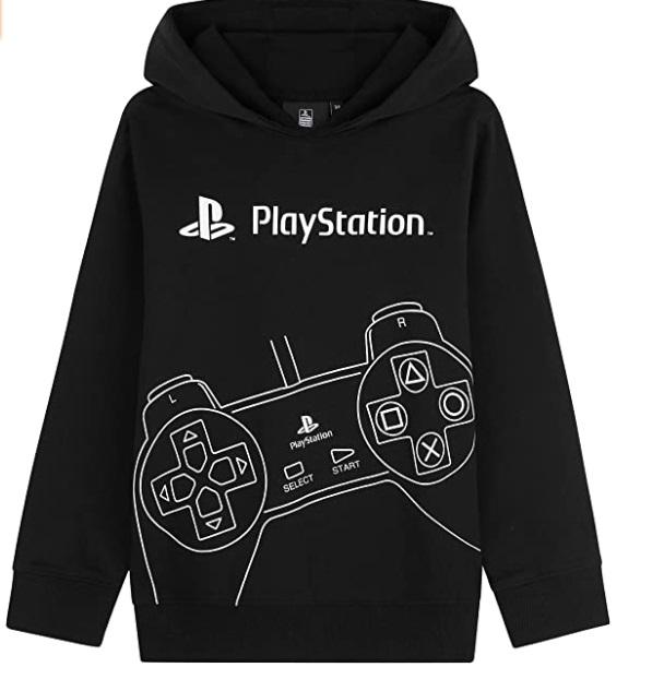 Playstation Felpe con Cappuccio per Ragazzi