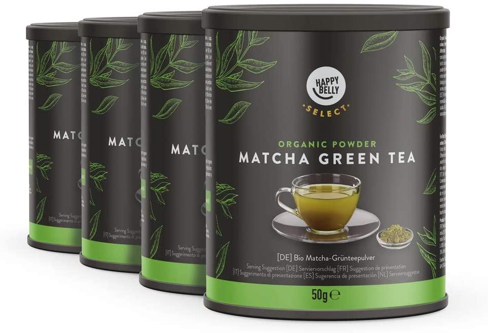 Polvere di tè verde matcha di Happy Belly Select