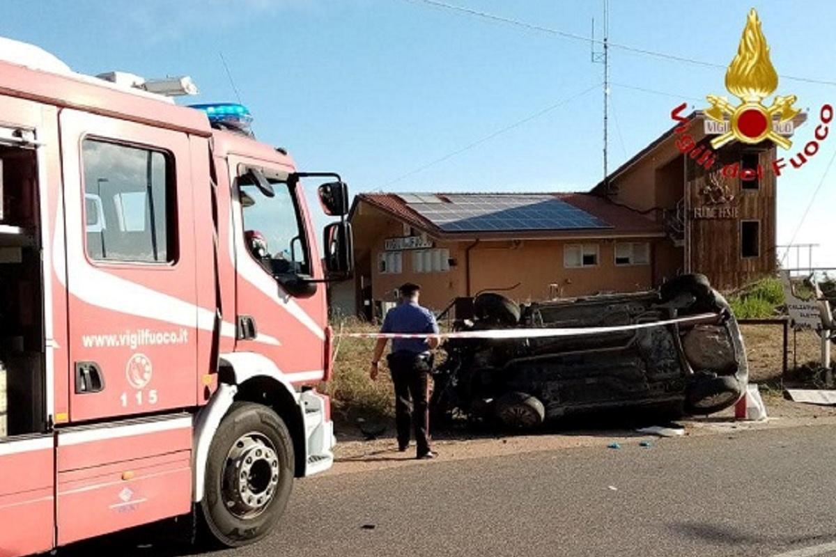Lanusei: ragazza di 26 anni morta in un incidente stradale