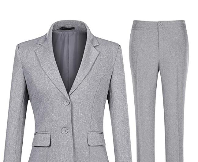 Tailleur formale da donna per ufficio Yynuda