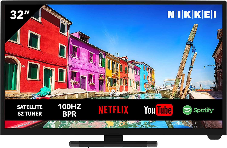 Televisione NIKKEI NH3221SMART da 81 cm/ 32 pollici