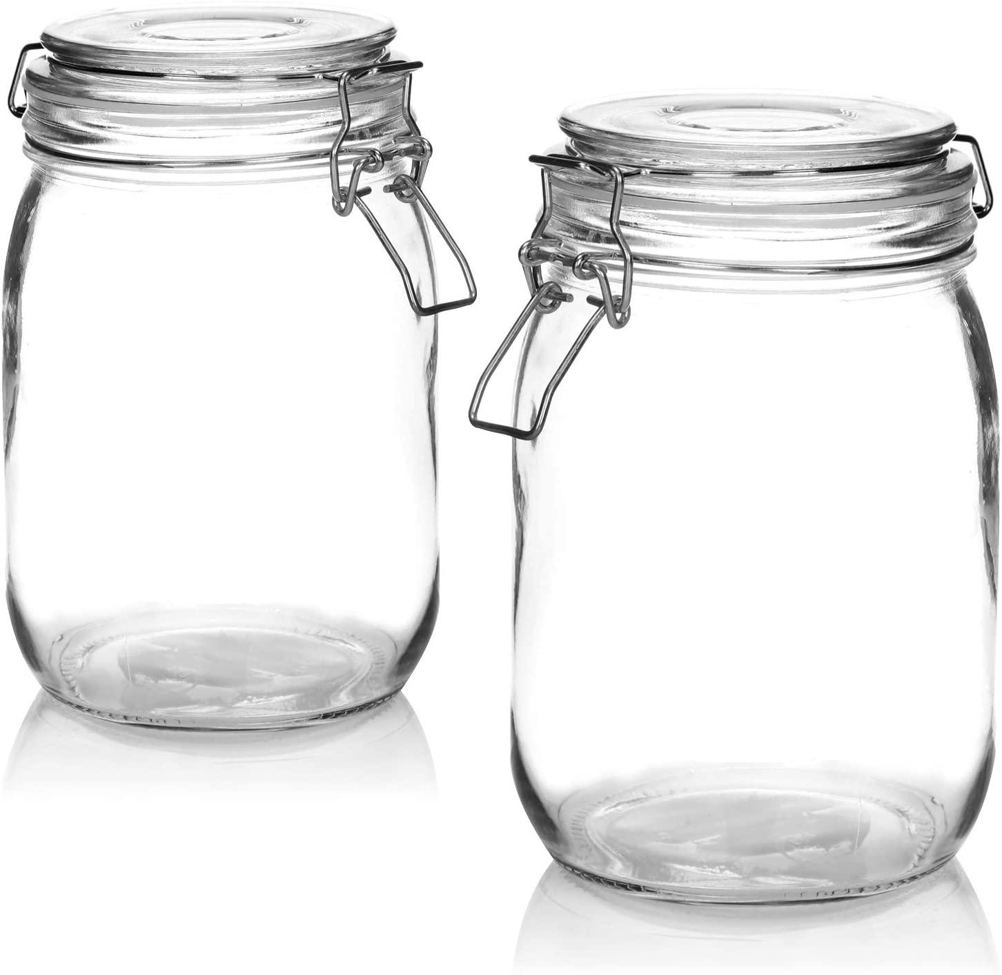Vasetti di vetro per conserve fatte in casa