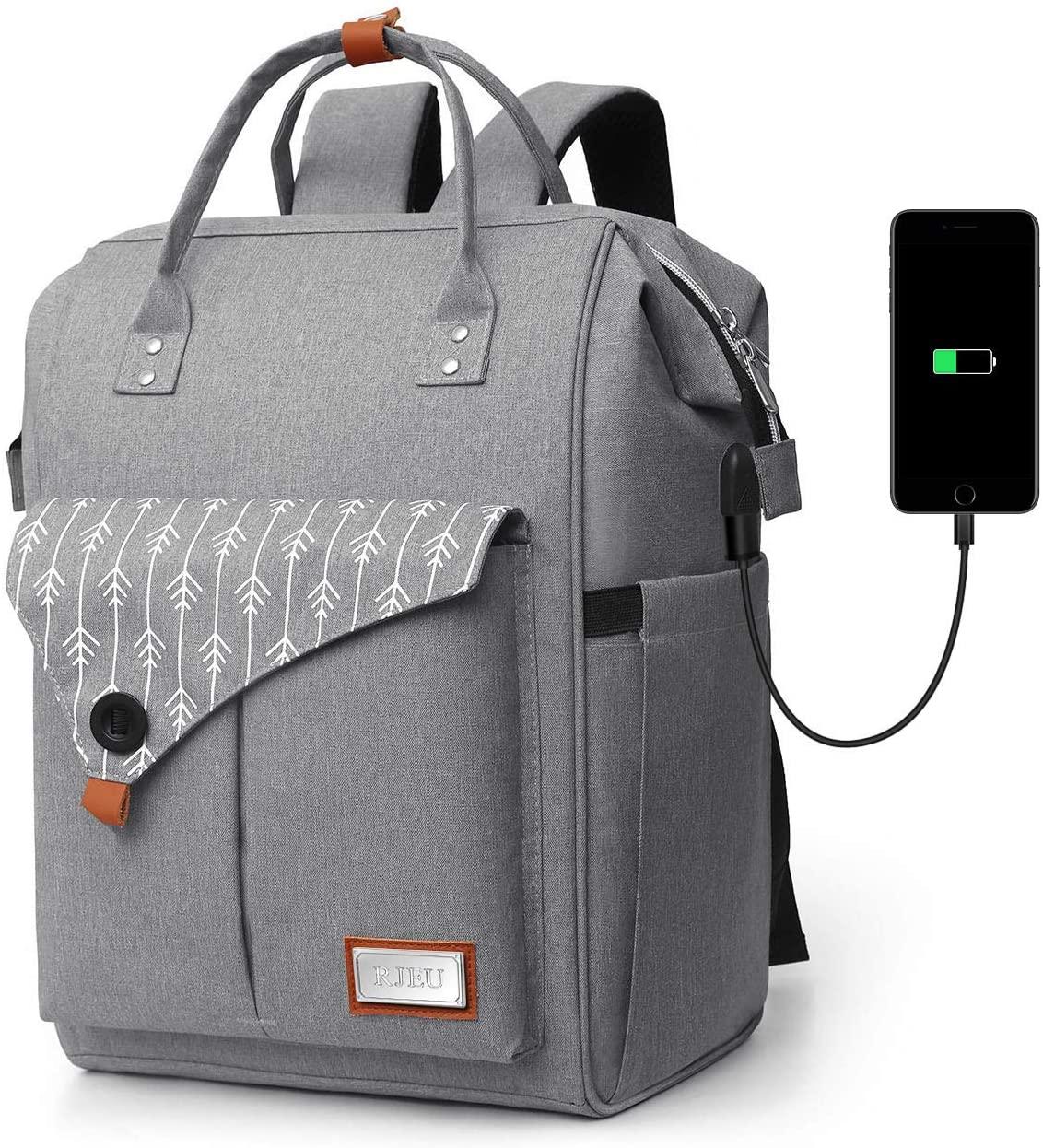 Zaino per Computer Portatile con caricatore USB