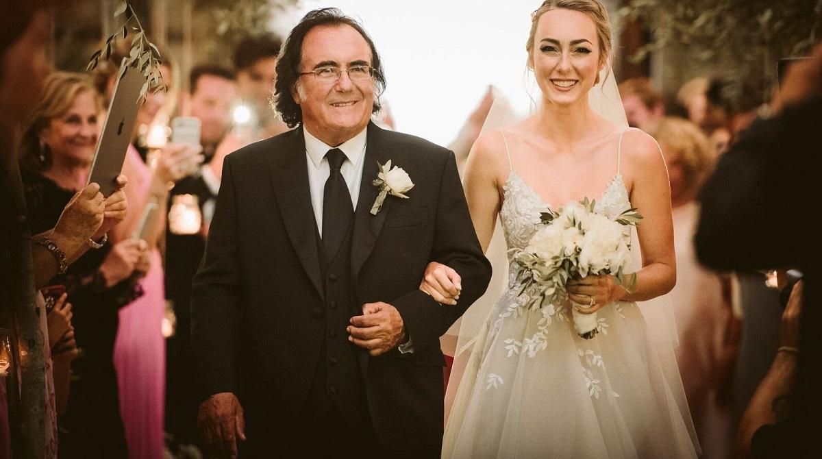 Al Bano pazzo di gioia per sua figlia Cristèl