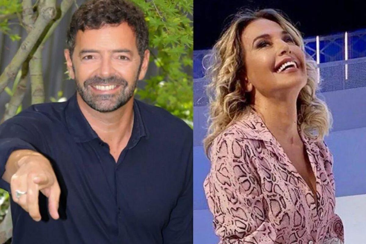 Alberto Matano e Barbara D'Urso