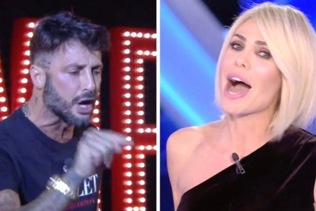 Fabrizio Corona and Ilary Blasi
