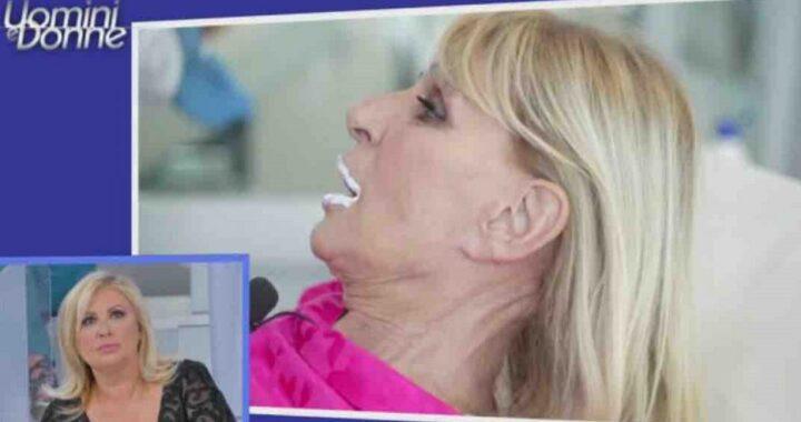 Gemma Galgani si rifà le labbra