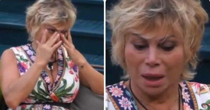 """GF Vip, Carmen Russo col volto rigato dalle lacrime per sua figlia Maria: """"Per lei vorrei..."""""""