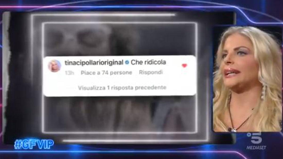 GF Vip: Francesca Cipriani parla con Katia Ricciarelli di Tina Cipollari