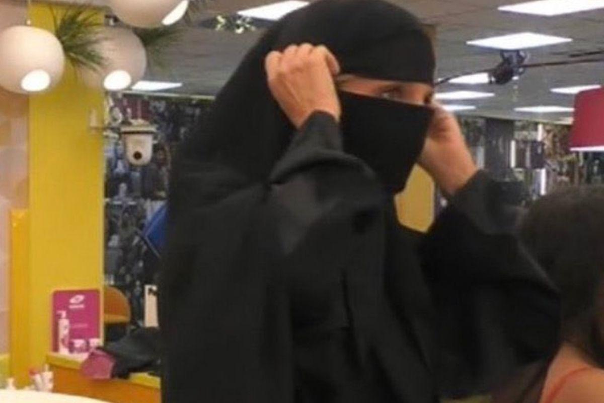 Jo Squillo burqa GF Vip