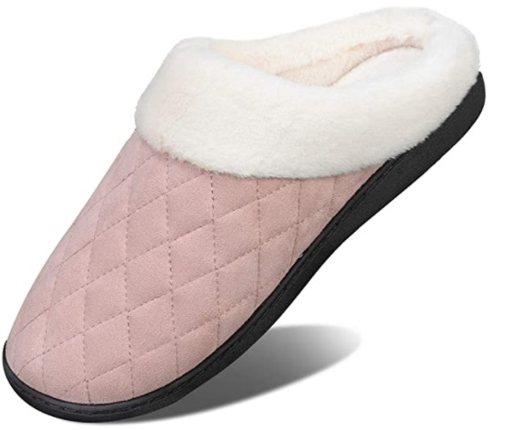 WateLves pantofole invernali per lei e per lui in cotone Memory, antiscivolo, indoor e outdoor