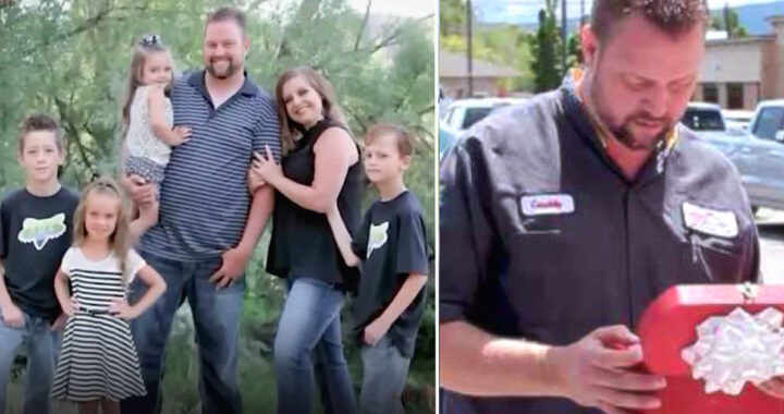 Sconosciuti pagano un mutuo per aiutare il papà vedovo di 5 figli dopo la morte della moglie