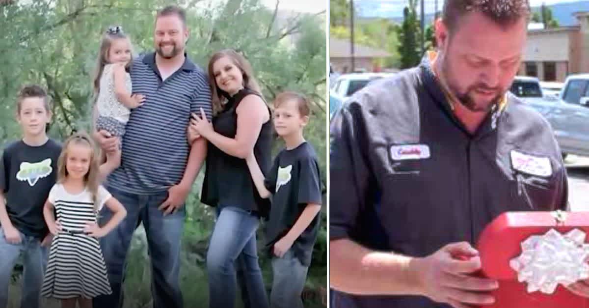 aiutare il papà vedovo di 5 figli