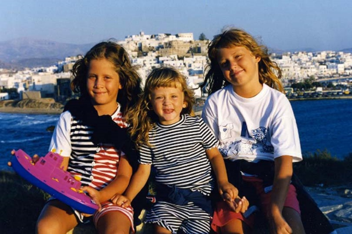 sorelle da piccole