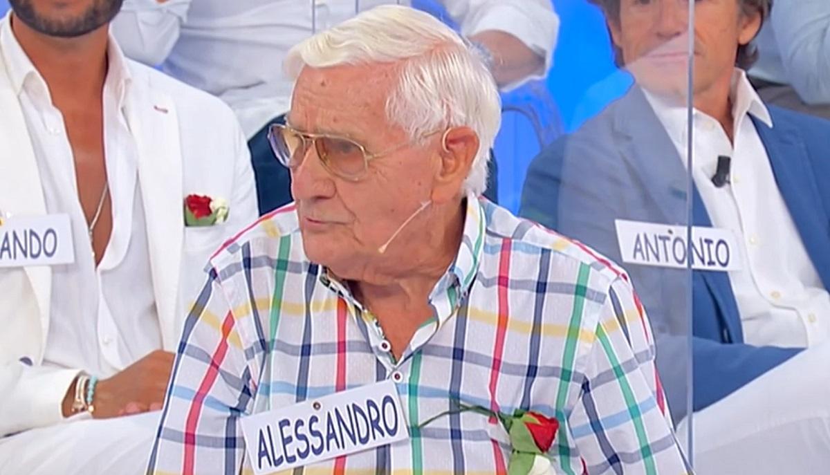 UeD: al trono over si presenta Alessandro il cavaliere di ben 91 anni