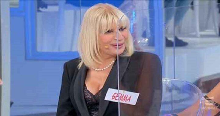 UeD: Gemma Galgani outfit piccante