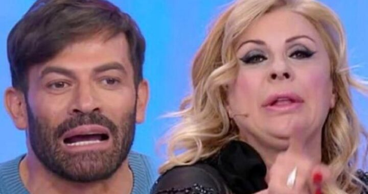 "UeD, ""In camerino"". Tina Cipollari e Gianni Sperti"